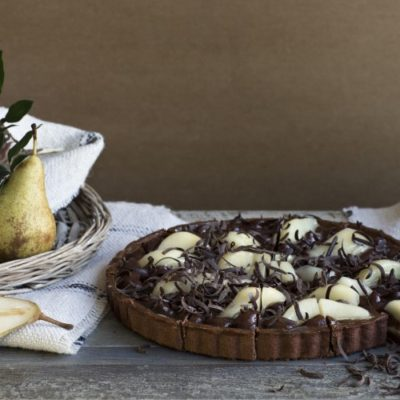 01 103 Crostata Pere And Cioccolato