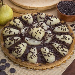 01 206 Crostata Crema Chocolate And Pear