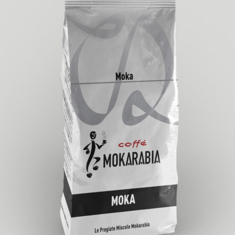 09 912 Coffee Beans Moka Silver 6x1kg
