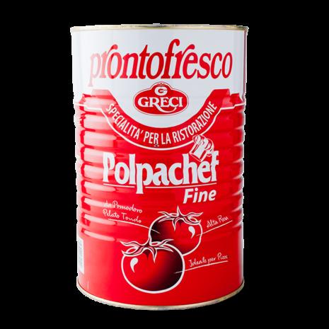 11 009 Pelati Polpachef Fine (pizza Topping 3x 4.1kg)
