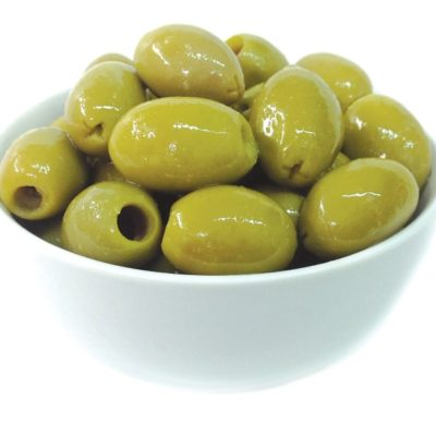 11 014 Green Pitted Olives