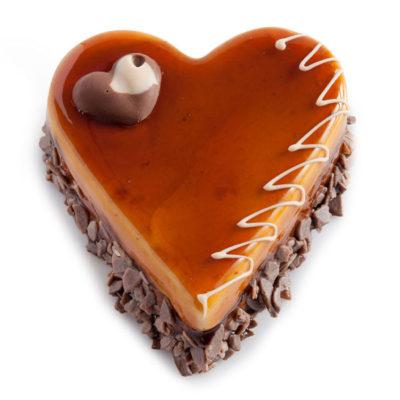 02 296 Chocolate Caramel Heart