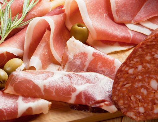 Products Cured Meats